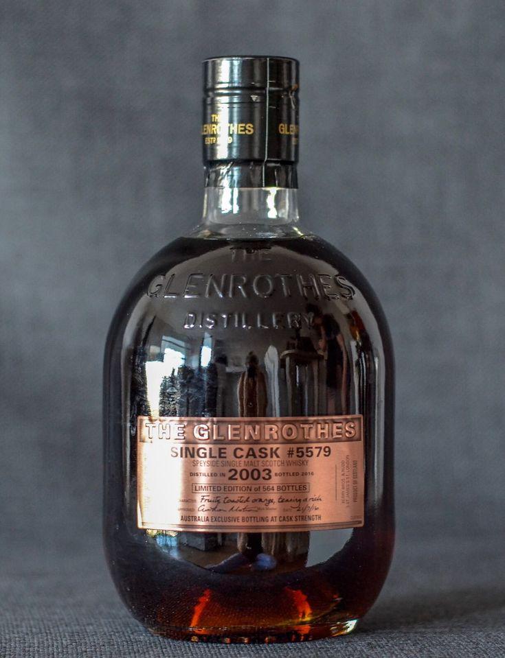 Glenrothes 2003 Single Cask 5579 Single Malt Scotland Bold, Sweet, Rich