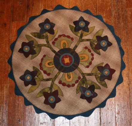 Penny Rugs Wool Felt Projects Pinterest Rugs