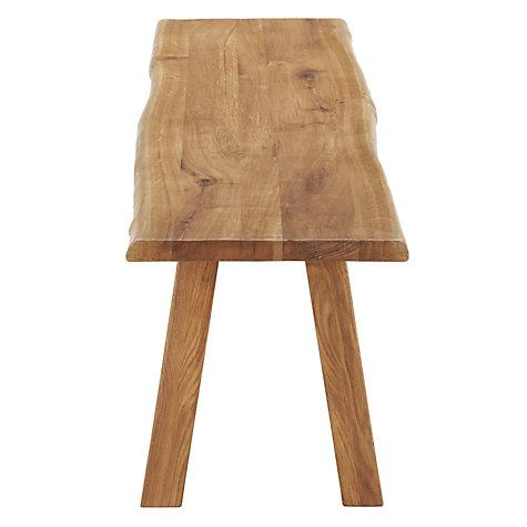 Buy John Lewis Croft Collection Glendale 4-Seater Dining Bench, Oak Online at johnlewis.com