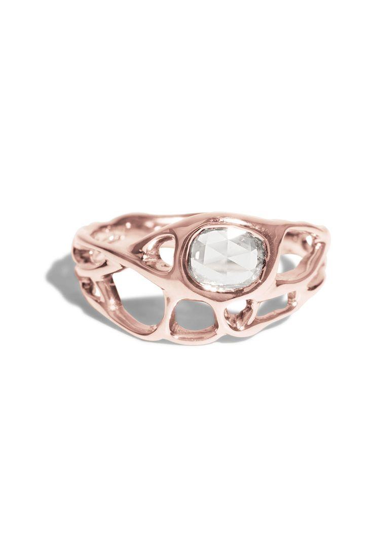 Gale Rose Cut Diamond Ring