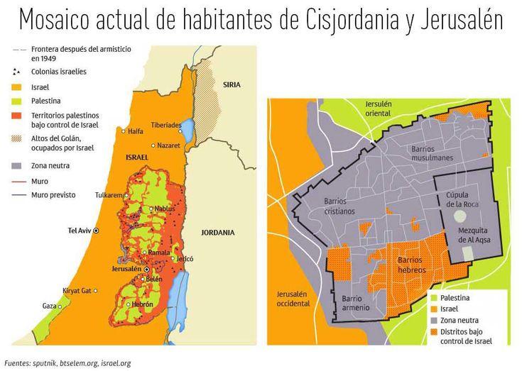 El problema 'Jerusalén': Cómo ha cambiado el mapa del Oriente Medio (infografía) - RT