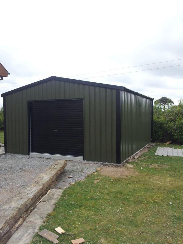 Steel Garages | Quality Steel Sheds| Steel Sheds|353(0)1-5136736