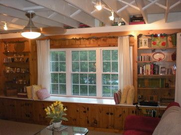 decorating knotty pine room - Google Search