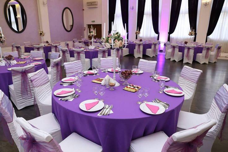 Decor pentru nunta in Salon Aerostar #culoarea_anului #decor #nunta #luminiambientale #Aerostar