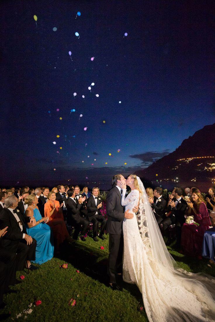 Bumble Founder Whitney Wolfe and Michael Herd's Wedding in Positano #SugokuiiEvents #PositanoWedding