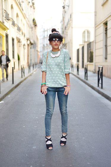 Tenue, Pain D'epices, Guess Jeans, Collier Collier, Le Style D'hiver, Leeloo, Nuages, Le Dressing, Offres