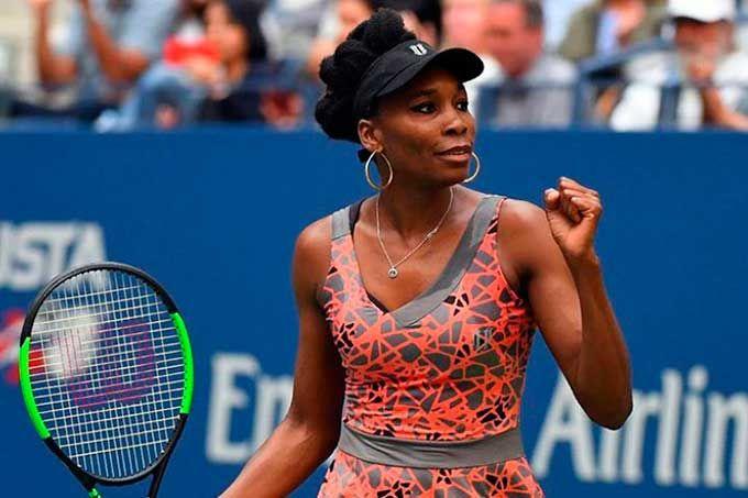 Venus Williams avanzó a cuartos de final en Abierto de EEUU #Deportes #Tenis