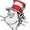 Visit The Cat in the Hat at PBS kids (games, videos, printables etc.)