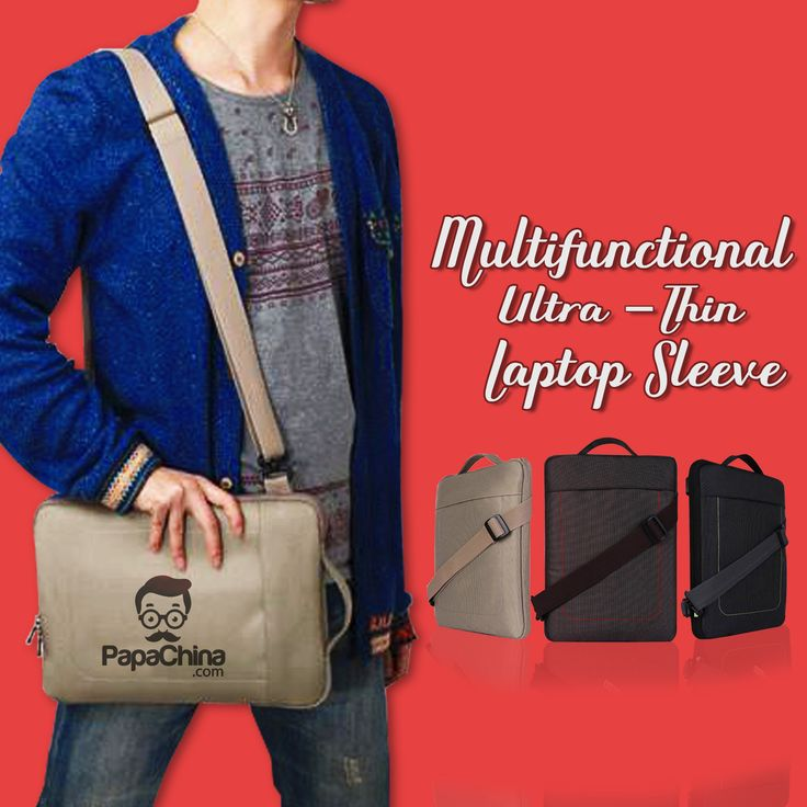 A great privilege for all of your customers who can make the optimum use of the product named Multifunctional Ultra-thin Laptop Sleeve with its versatile features that includes zipper closure, double zipper bag, detachable shoulder strap, fits laptops upto 13 inch, waterproof, ABS buckle, unique clip design, two different ways to carry which will give your company some good marketing exposure with handful amount of facilities among your customers and can be used for carrying laptops.