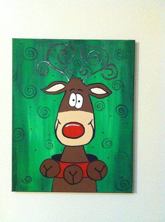 Cute canvas paint idea for wall decor canvas painting for Cute canvas painting ideas