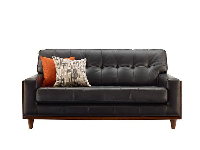 Leather Sofas  Small Leather Sofa