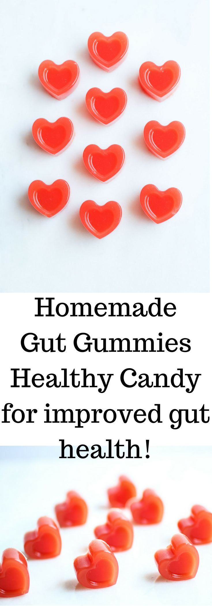 Homemade Watermelon Lemonade Gut Gummies, healthy candy for improved gut health that your kids will love!