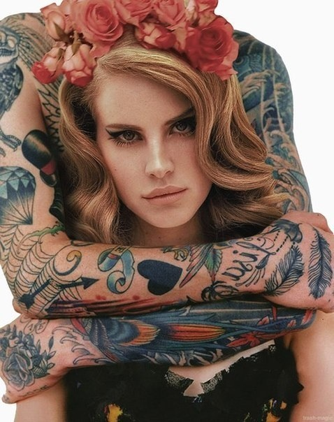 lana del rey tattoo die young - photo #10