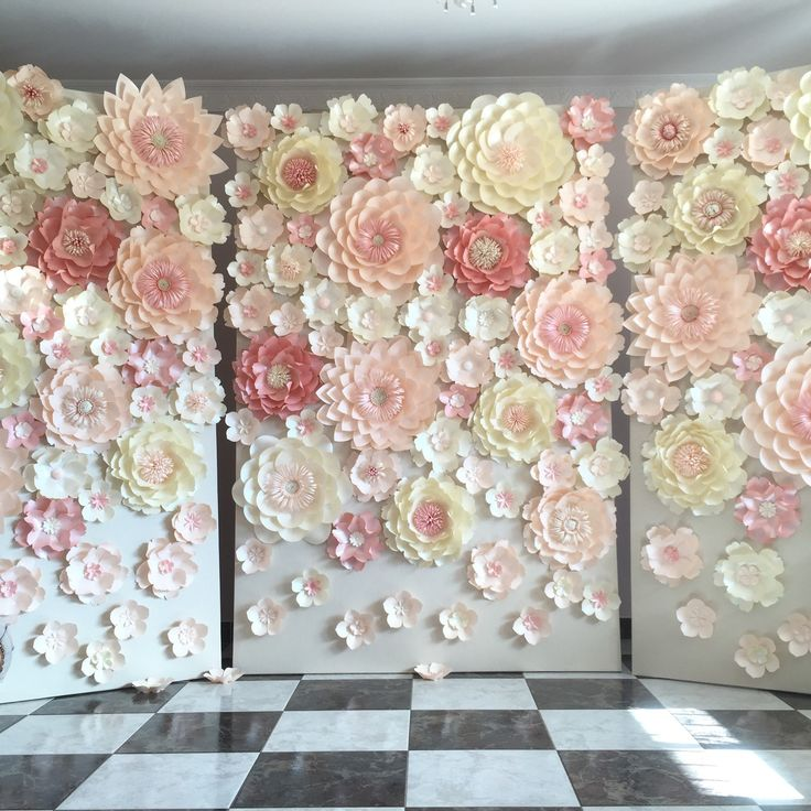 63 Best Images About Paper Flowers And Backdrops By SydneyPaperFlowers On Pinterest
