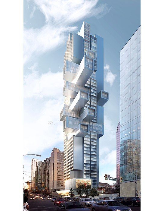 Is Ole Scheeren's Latest Design an Apartment Building or a Jenga Tower?