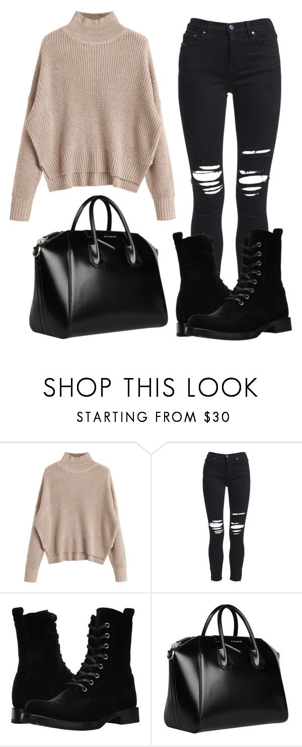 """""""."""" by valeria-arcos on Polyvore featuring AMIRI, Frye and Givenchy"""