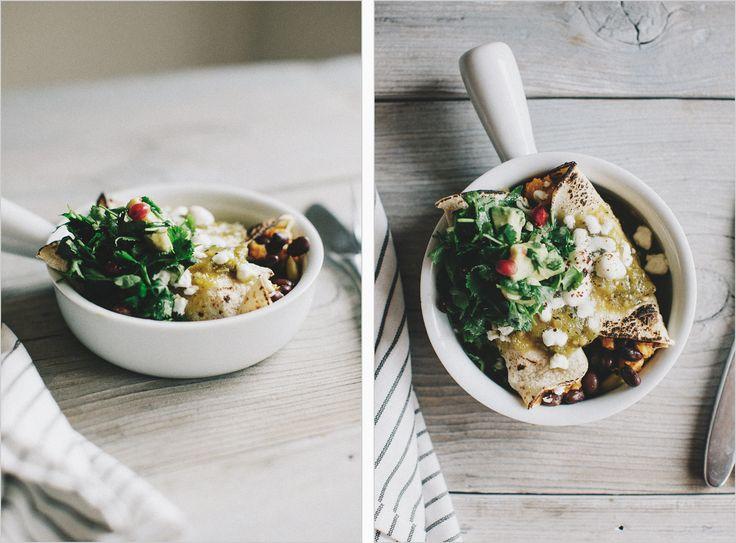 Winter Veggie Enchiladas. Sprouted Kitchen