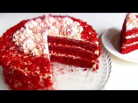 "Торт ""Красный Бархат"" \ Red Velvet Cake - YouTube"