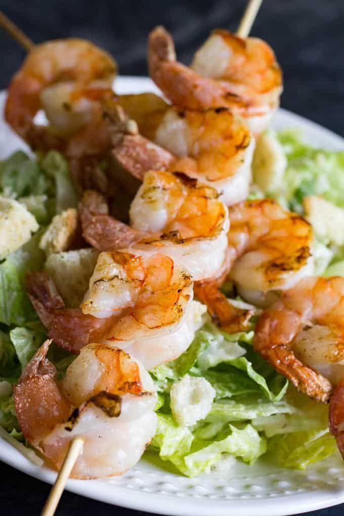 Traeger Grilled Shrimp Kabobs Recipe Pellet Grill Recipes Easy Skillet Dinner Shrimp Kabobs