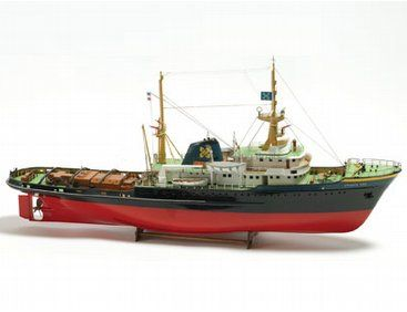 BB592 - #Zwarte #Zee  The Zwarte Zee wooden ship model is an accurate recreation of the real life vessel built in 1963 at J. & K. Smit's Scheepswerven N.V. in Kinderdijk  http://www.castyouranchorhobby.com/ecom-prodshow/BB592.html