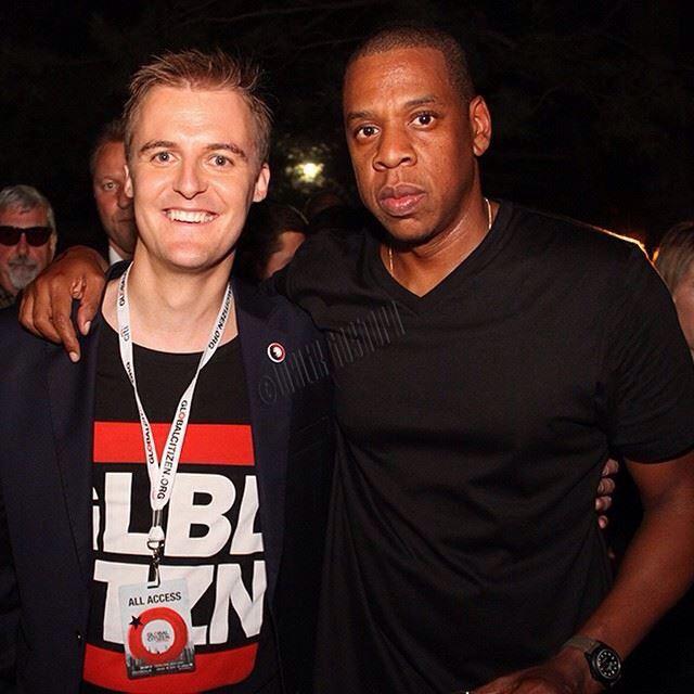 Jay -Z. Global Citizen 2014
