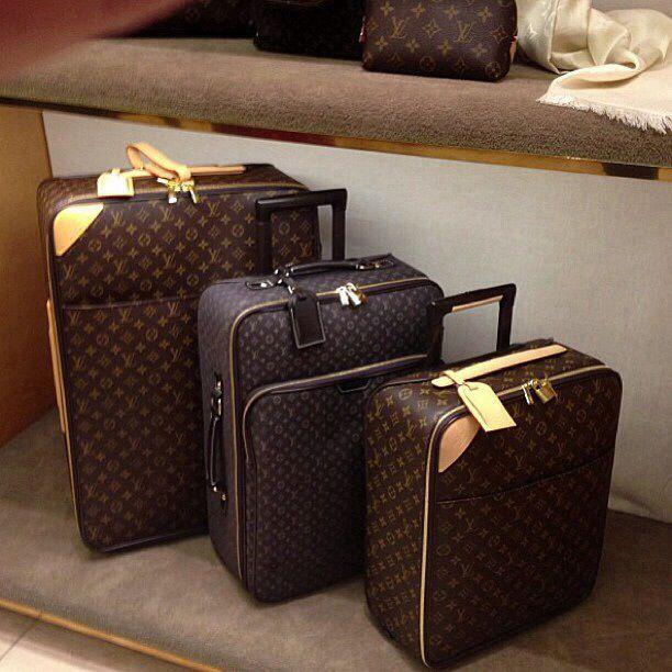 LV Luggage..