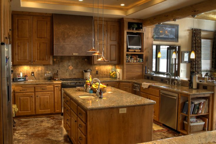 17 Best Images About Kitchen Remodel On Pinterest Oak Cabinets Kitchen Black Appliances And