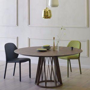 Tavolo Acco rotondo - design Florian Schmid - Miniforms