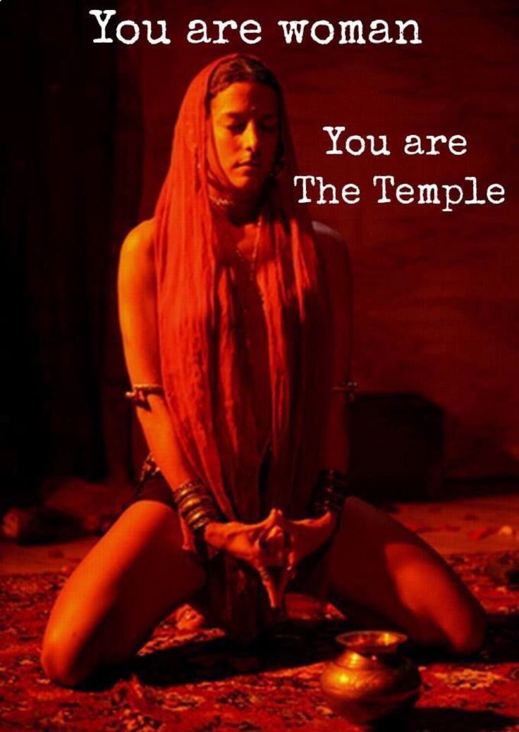 You are Woman, you are the Sacred Temple, honour your divinity. WILD WOMAN…