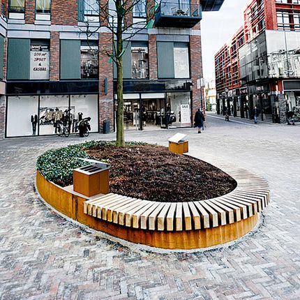 93 best images about corten steel street furniture by streetlife on pinterest planters cycle. Black Bedroom Furniture Sets. Home Design Ideas
