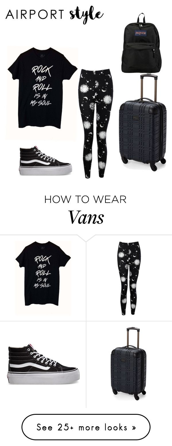 """Untitled #155"" by whateverxox on Polyvore featuring Boohoo, Vans, Ben Sherman and JanSport"