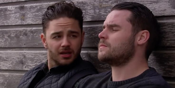 Adam Barton (Adam Thomas) & Aaron Livesy (Danny Miller) (May 2015)