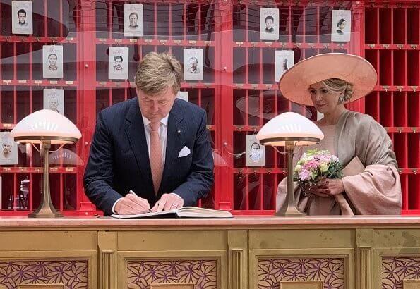 King Willem Alexander And Queen Maxima Visited Brandenburg Queen