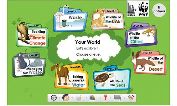 Be'ati Watani This UAE-based environmental website from the EWS ...