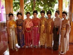 The formal Thai national costume, known in Thai as Chut Thai phra ratcha niyom, literally Thai dress of royal endorsement), includes several sets of clothing designed for use as national costume in formal occasions.