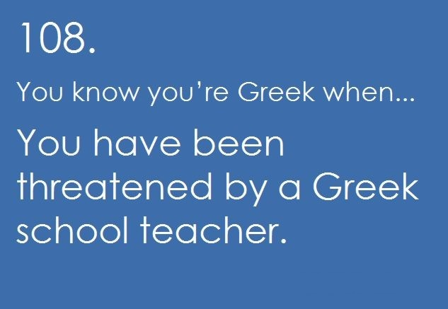 I could handle that, it was my sister's very old Greek school teacher that like to pinch both my cheeks, VERY, VERY hard!! The struggles of being so cute with fat cheeks!