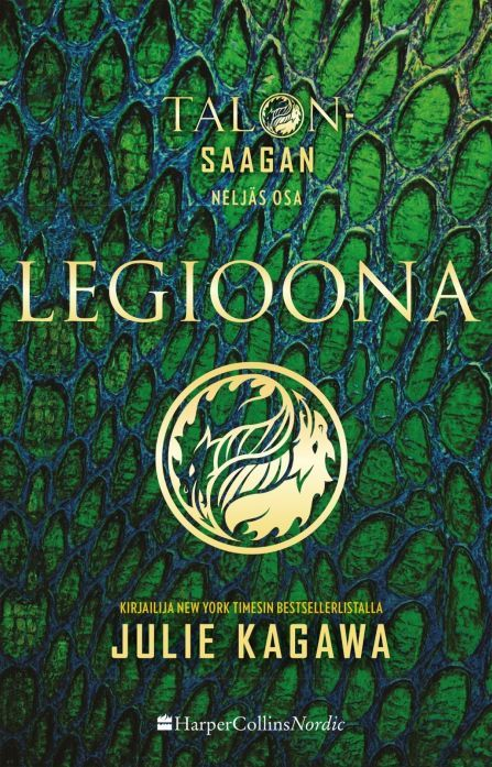 Legioona (Talon-saaga, #4) - Julie Kagawa :: Julkaistu 28.7.2017 #fantasia #paranormaaliromantiikka #nuoret