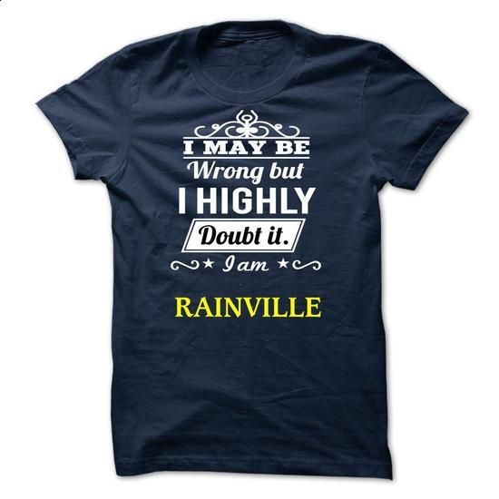 RAINVILLE - i may be - #zip up hoodie #sweater boots. CHECK PRICE => https://www.sunfrog.com/Valentines/RAINVILLE--i-may-be.html?68278