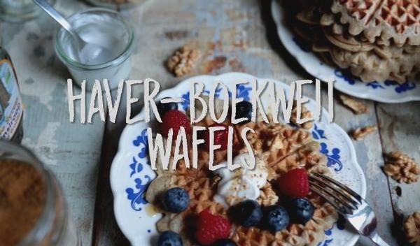 We sluiten de gastweek van Ellen Charlotte Marie af met dit leuke recept voor wafeltjes die zo lekker smaken dat je kinderen niet zullen merken hoe gezond ze zijn.