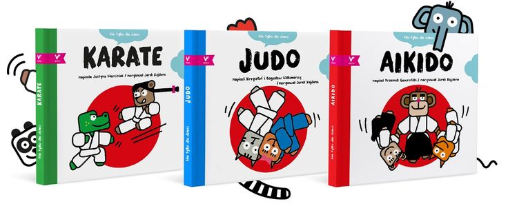 AIKIDO / JUDO / KARATE-DO - books for kids about martial arts