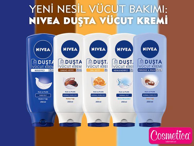 NIVEA Duşta Vücut Kremi Serisi cildine değer verenlerin yeni keyfi!