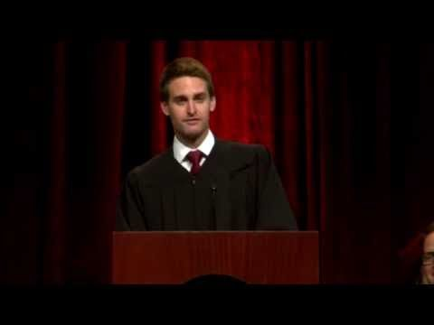 Evan Spiegel USC Commencement Speech | USC Marshall School of Business Commencement 2015 - YouTube