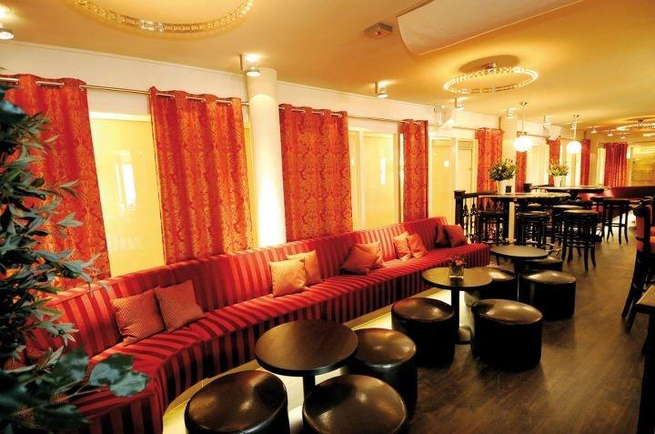 Lounge van het hotel