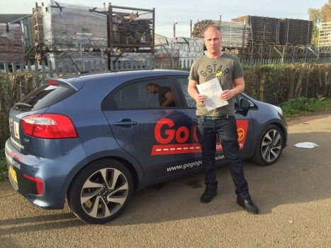 I am so pleased with the Go Go Go Intensive Driving Courses they pre-booked my theory test for the Friday and Fast Tracked my practical test a few days later which I passed first time with only  5 faults.