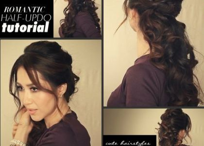 Best Of Haircuts Curly Hair Styles Half Updo Hairstyles Hair Styles