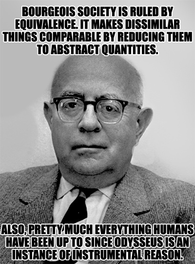 an analysis of the popular culture by max horkheimer and theodor adorno The third part of the culture industry, written by theodor w adorno and max horkheimer.
