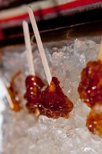 Sugar Shack's famed Maple Syrup Taffy