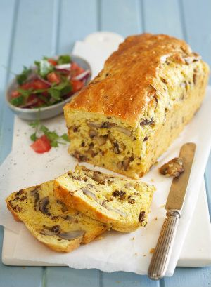 Mushroom, biltong and cheddar loaf | Desserts & Baking | Fairlady