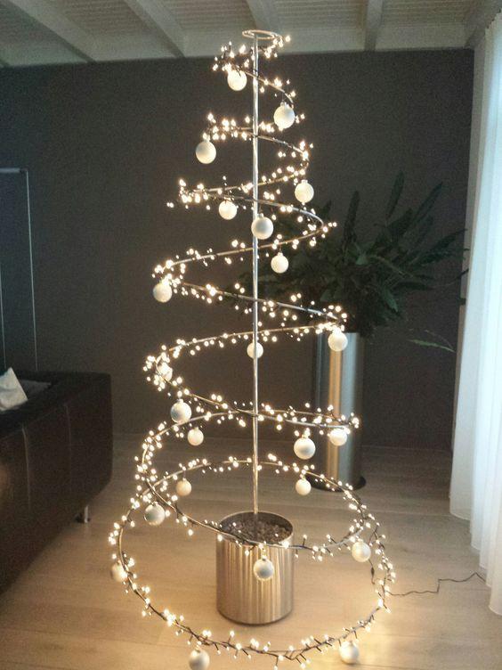 Afbeeldingsresultaat voor alternatieve kerstbomen