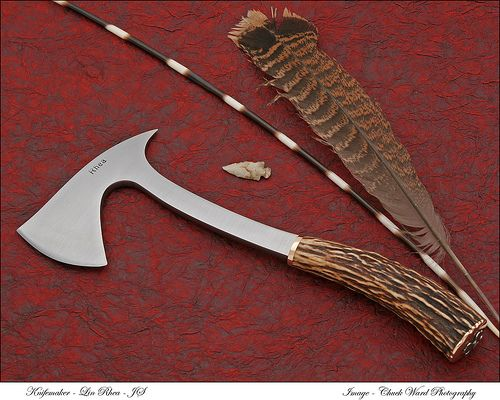 30 Best Horn Knifes Images On Pinterest Knife Making